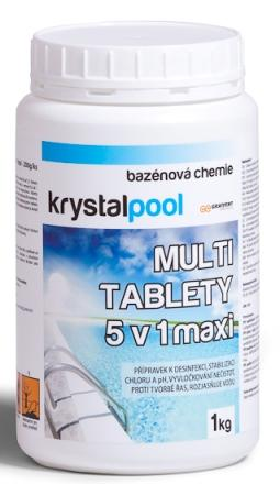 Multi tablety 5 v 1 maxi 1 kg (200g)